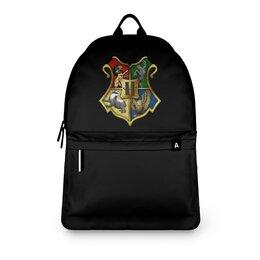 "Рюкзак 3D ""хогвартс "" - арт, стиль, рисунок, гарри поттер"