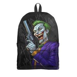 """Рюкзак 3D """"The Joker GUN"""" - пистолет, джокер, сыну, любителям комиксов, киномнам"""