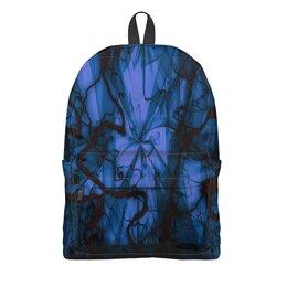 """Рюкзак 3D """"Краски"""" - узор, космос, краски, абстракция, молния"""