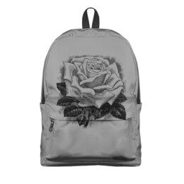 """Рюкзак 3D """"Цветок"""" - цветы, роза, розы, букет, шипы"""