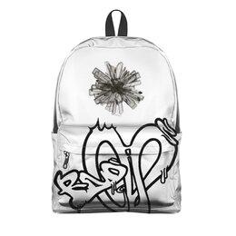 """Рюкзак 3D """"Crystal"""" - граффити, randomium"""