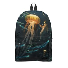 "Рюкзак 3D ""Jellyfish"" - море, океан, медуза"