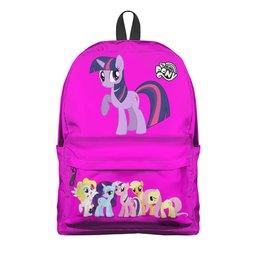 """Рюкзак 3D """"PONY """" - my little pony, пони, мульт, мой маленький пони"""