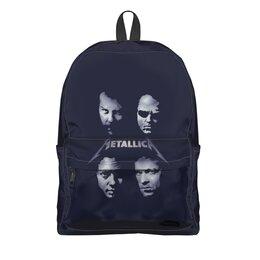 """Рюкзак 3D """"Metallica"""" - музыка, рок, heavy metal, metallica, металлика"""