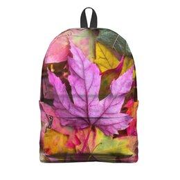 """Рюкзак 3D """"Осень"""" - осень, школа, учёба, школьная пора, снова в школу"""