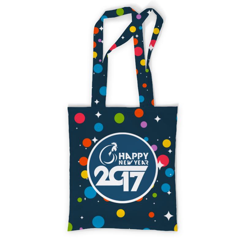 Сумка с полной запечаткой Printio Happy new year 2017 сумка printio happy new year