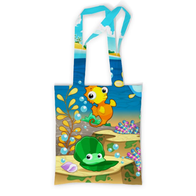 Сумка с полной запечаткой Printio Морская жизнь stigis стигис аппликация сумка детская морская