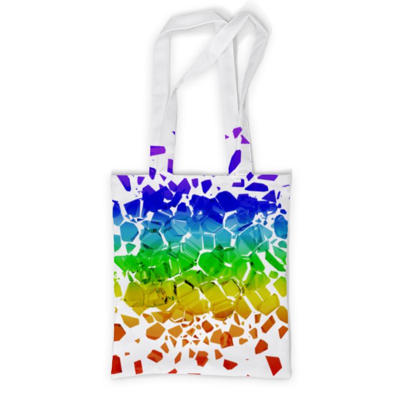 Сумка с полной запечаткой Printio Broken rainbow футболка с полной запечаткой женская printio broken rainbow