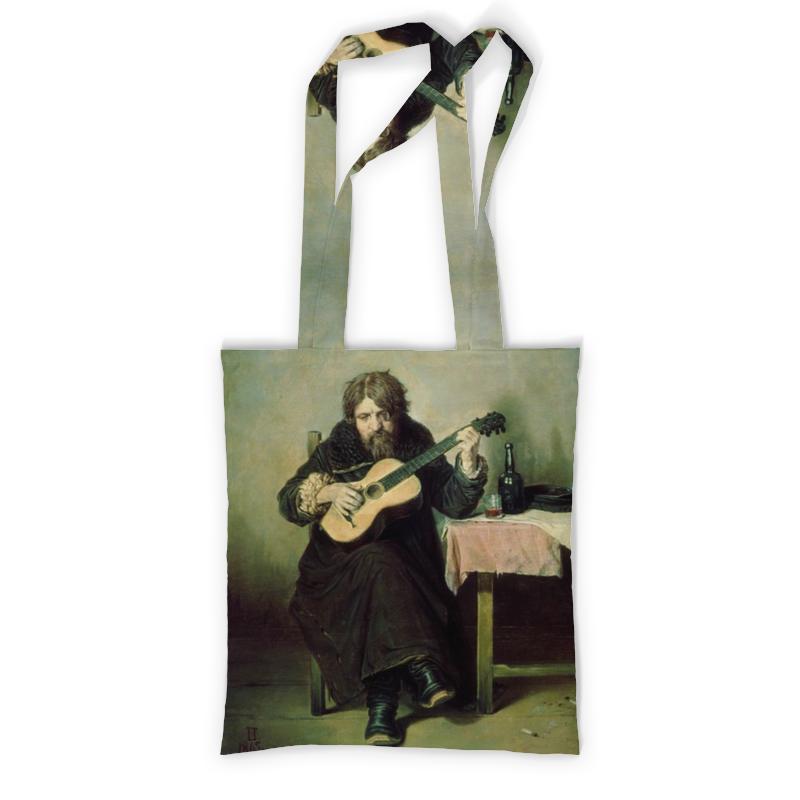 Сумка с полной запечаткой Printio Гитарист - бобыль (картина перова) милюгина е товарищество передвижных художественных выставок
