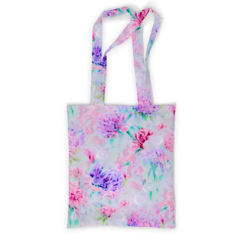 Сумка с полной запечаткой Printio Акварельные нежные розовые цветы невидимка для волос funny bunny розовые цветы 2 шт