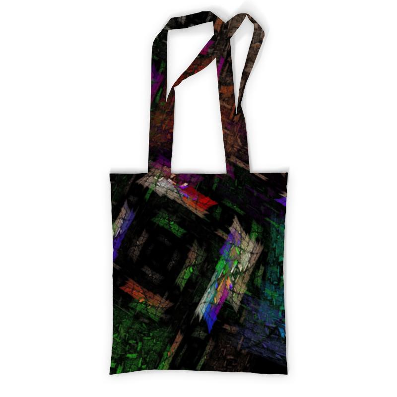 Сумка с полной запечаткой Printio Абстрактный дизайн сумка с полной запечаткой printio синяя абстракция
