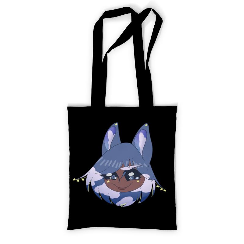 Сумка с полной запечаткой Printio Блокнот с оригинальным персонажем хириша визз блокнот printio кошка