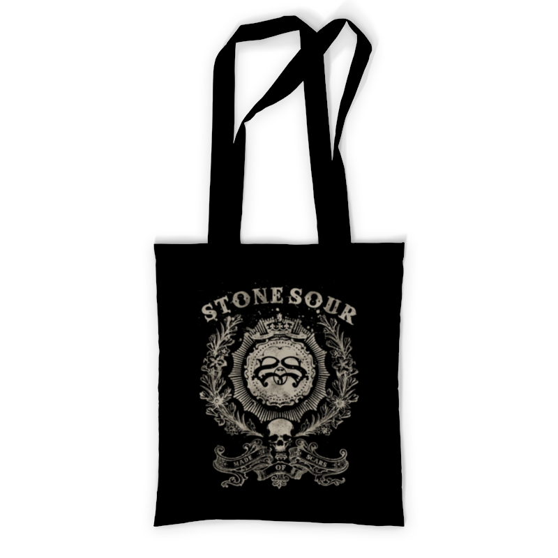 Сумка с полной запечаткой Printio stone sour эпосы легенды и сказания садко