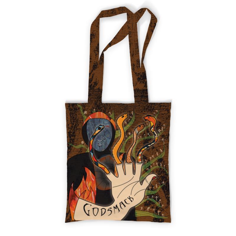 Сумка с полной запечаткой Printio Godsmack сумка с полной запечаткой printio музыка стикеры