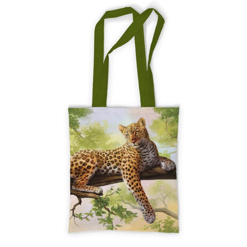 Сумка с полной запечаткой Printio Леопард сумка printio леопард