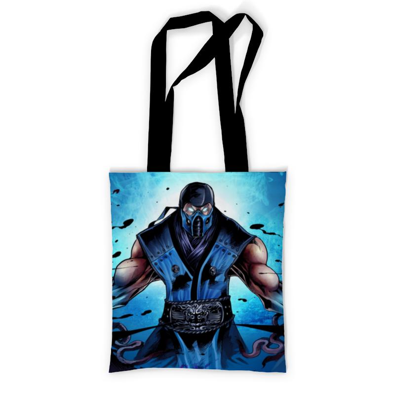 Сумка с полной запечаткой Printio Mortal kombat x (sub-zero) сумка с полной запечаткой printio mortal kombat x sub zero