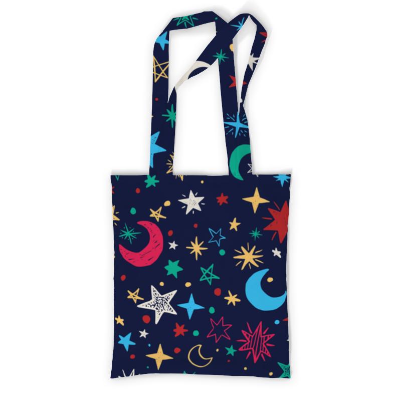 Сумка с полной запечаткой Printio Звёздное небо сумка с полной запечаткой printio какаду инка