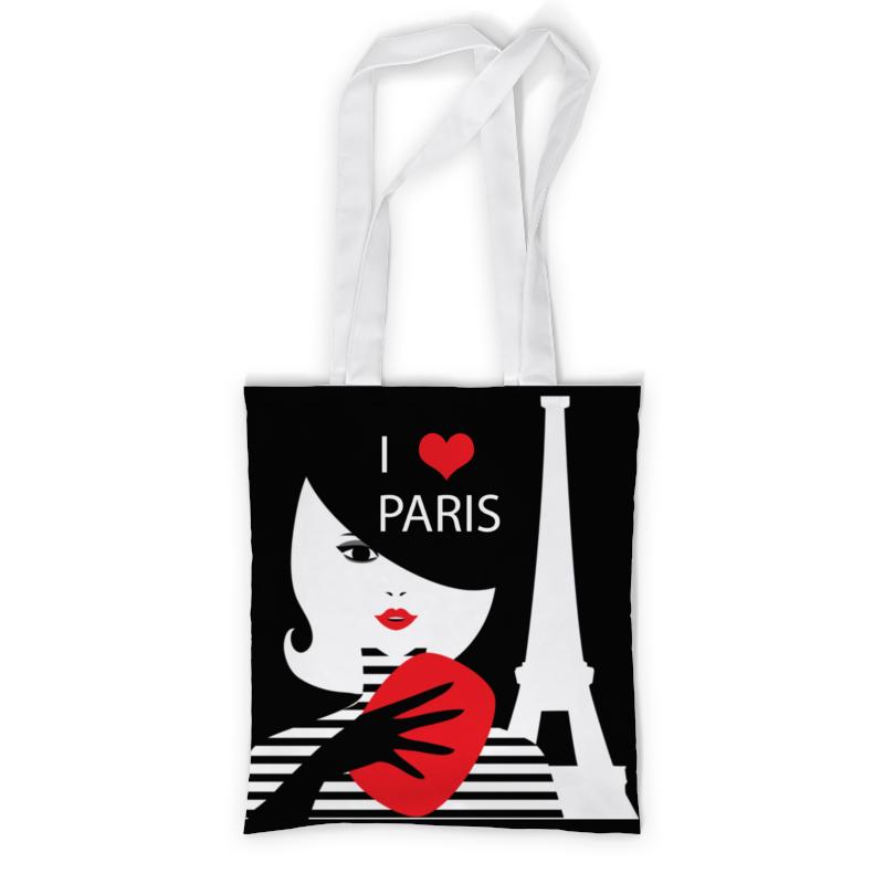 Сумка с полной запечаткой Printio Француженка, фэшн иллюстрация футболка классическая printio француженка фэшн иллюстрация