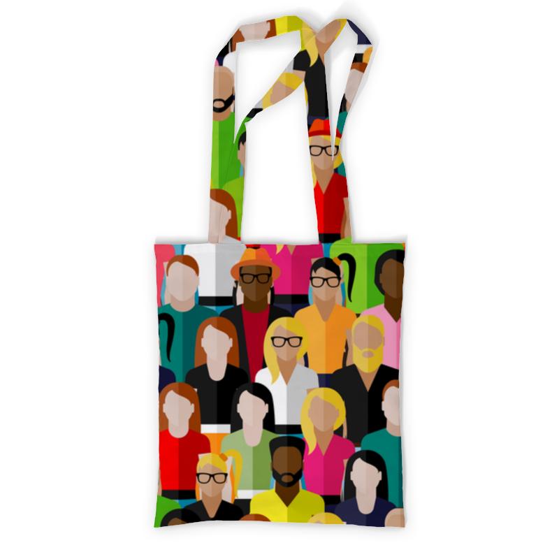 Сумка с полной запечаткой Printio People сумка с полной запечаткой printio people