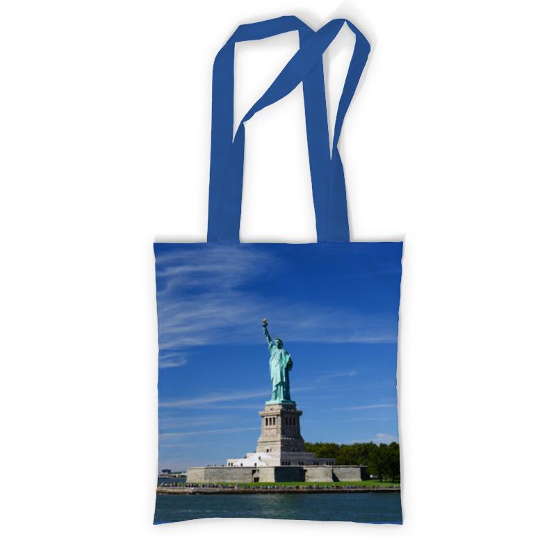 Сумка с полной запечаткой Printio Статуя свободы сумка printio ворон свободы