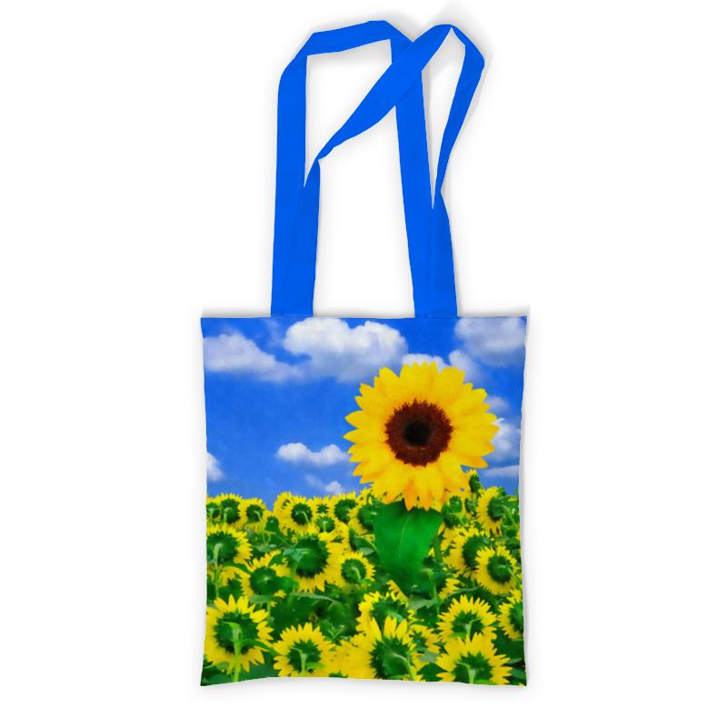 Сумка с полной запечаткой Printio Подсолнух сумка с полной запечаткой printio в стиле майя