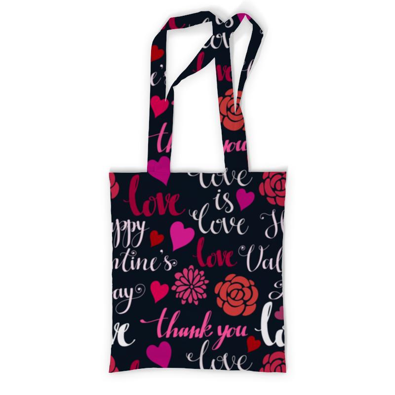 Сумка с полной запечаткой Printio День св. валентина сумка printio о любви