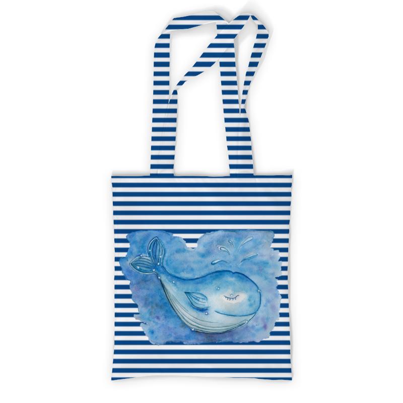Сумка с полной запечаткой Printio Спящий кит сумка с полной запечаткой printio сумка радуга в горах