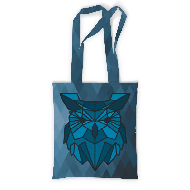 Сумка с полной запечаткой Printio Сумка геометричная сова сумка