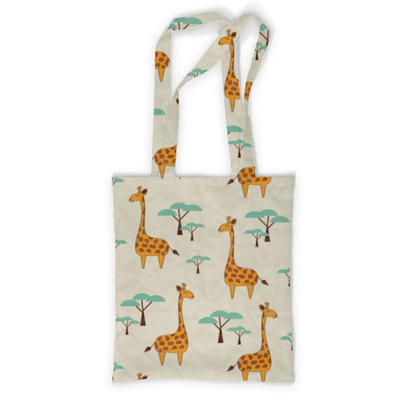 Сумка с полной запечаткой Printio Жирафы сумка с полной запечаткой printio куница