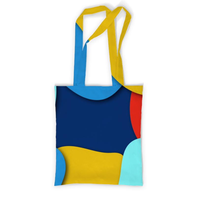 Сумка с полной запечаткой Printio Разноцветная абстракция сумка с полной запечаткой printio синяя абстракция