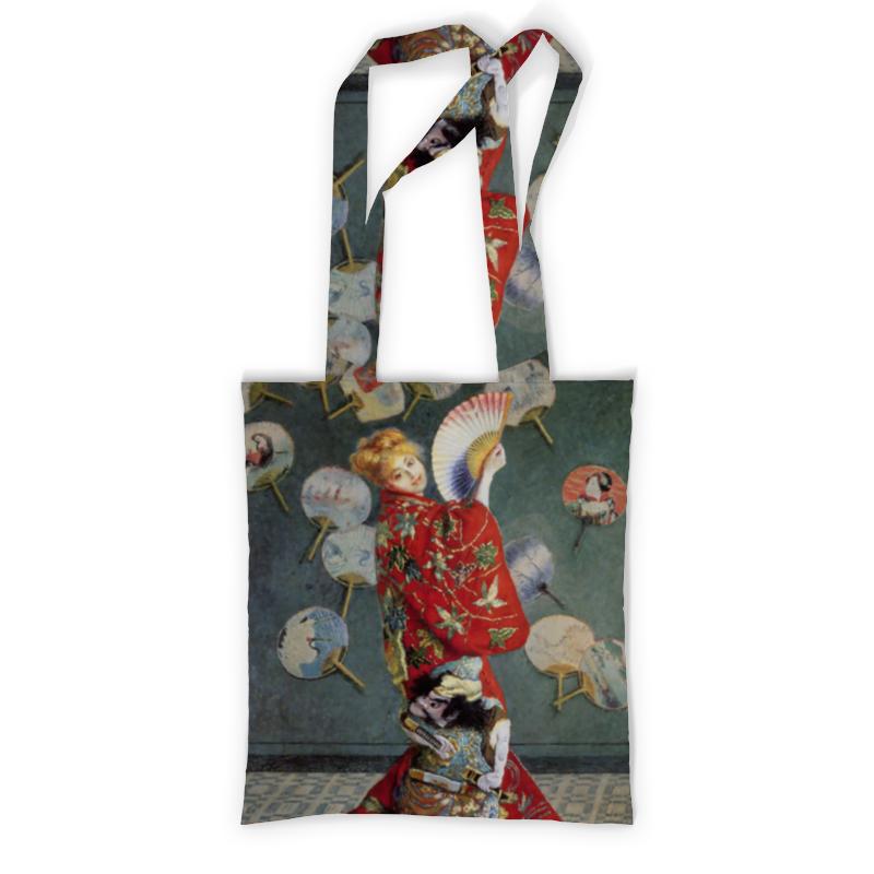 Сумка с полной запечаткой Printio Камилла в японском кимоно (клод моне) футболка с полной запечаткой printio топинамбур клод моне