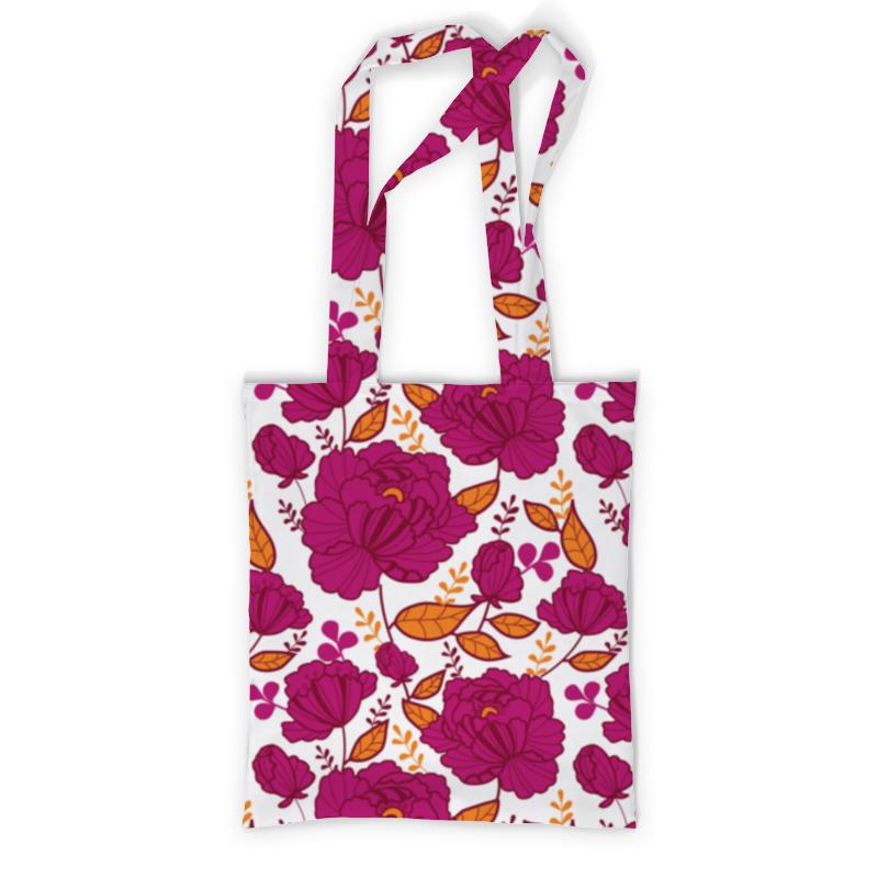 Сумка с полной запечаткой Printio Цветы сумка с полной запечаткой printio сумка красные цветы