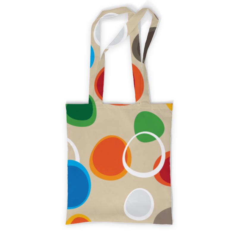 Сумка с полной запечаткой Printio Цветная абстракция сумка с полной запечаткой printio синяя абстракция