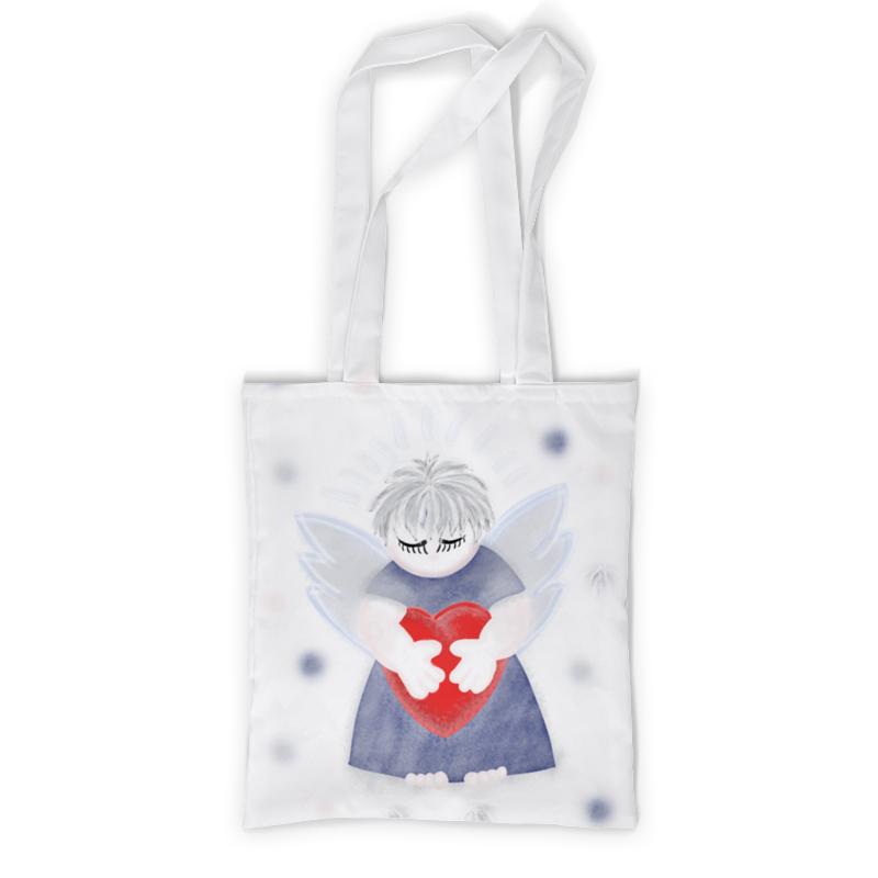 Printio Маленький сердечный ангел сумка printio малыш наш любимый ангел