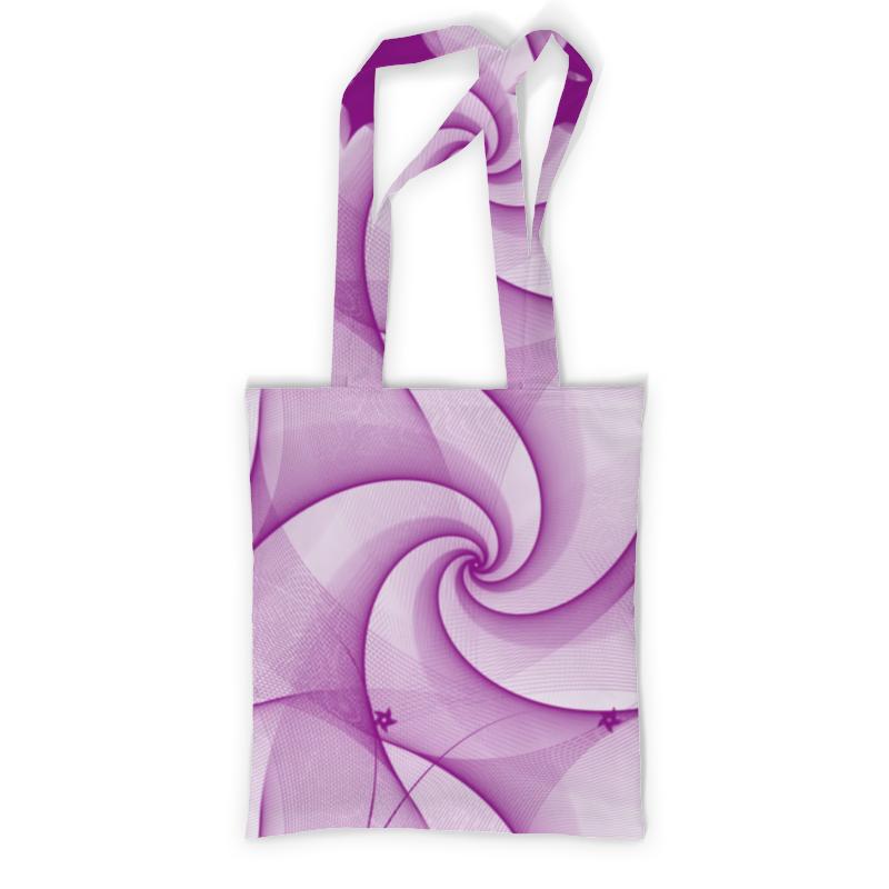 Сумка с полной запечаткой Printio Розовая абстракция сумка с полной запечаткой printio синяя абстракция