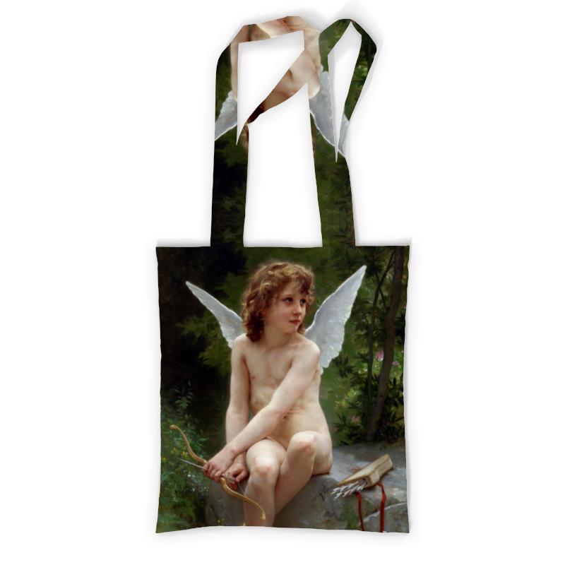 Сумка с полной запечаткой Printio Подстерегающая любовь (вильям бугро) сумка с полной запечаткой printio любовь love