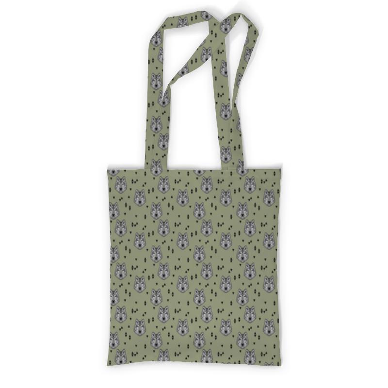 Сумка с полной запечаткой Printio Волки сумка с полной запечаткой printio какаду инка