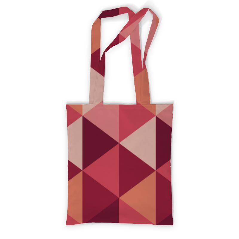 Printio Геометричиская абстракция сумка с полной запечаткой printio разлетевшийся куб абстракция