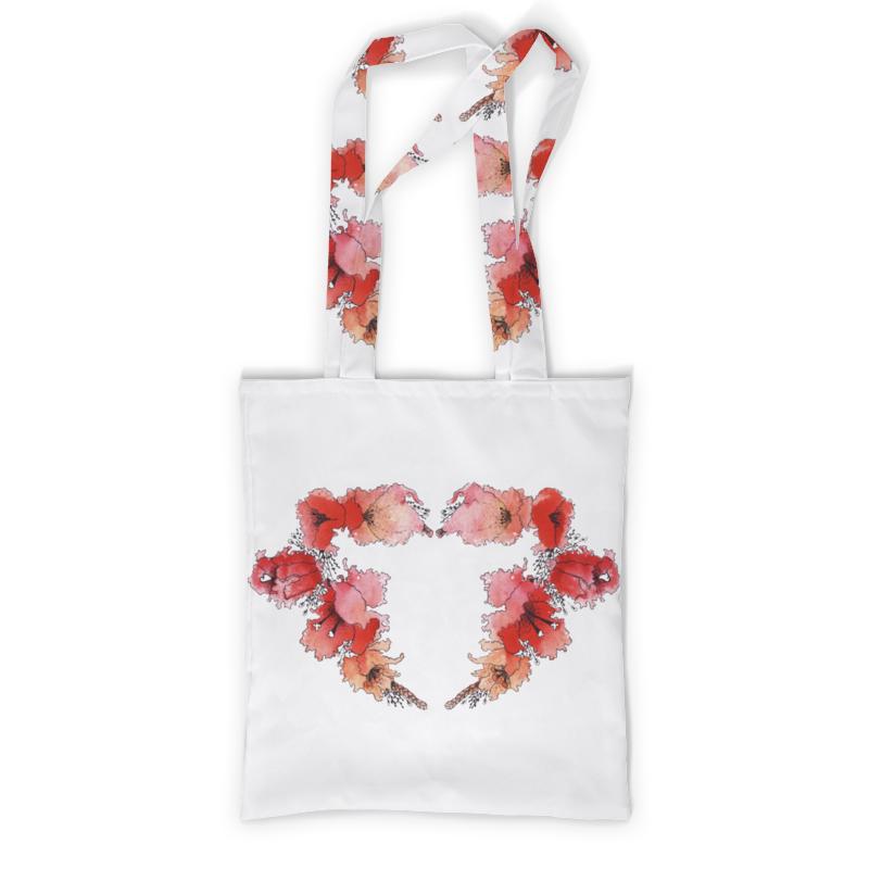 Сумка с полной запечаткой Printio Цветочное сердце сумка с полной запечаткой printio яркое сердце