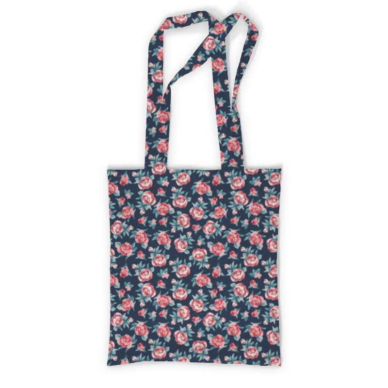 Сумка с полной запечаткой Printio Цветы сумка с полной запечаткой printio куница