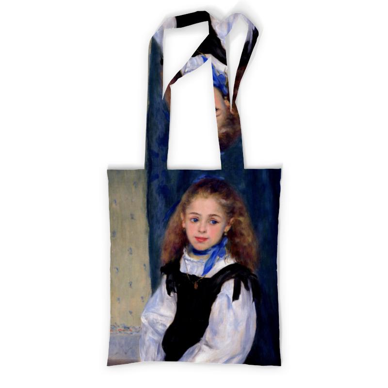 Сумка с полной запечаткой Printio Портрет мадмуазель легран (пьер огюст ренуар) чехол для карточек пьер огюст ренуар дворец дожей в венеции