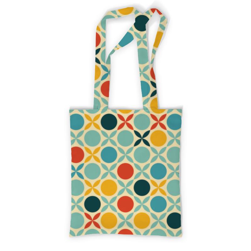 Сумка с полной запечаткой Printio Абстрактная сумка с полной запечаткой printio синяя абстракция