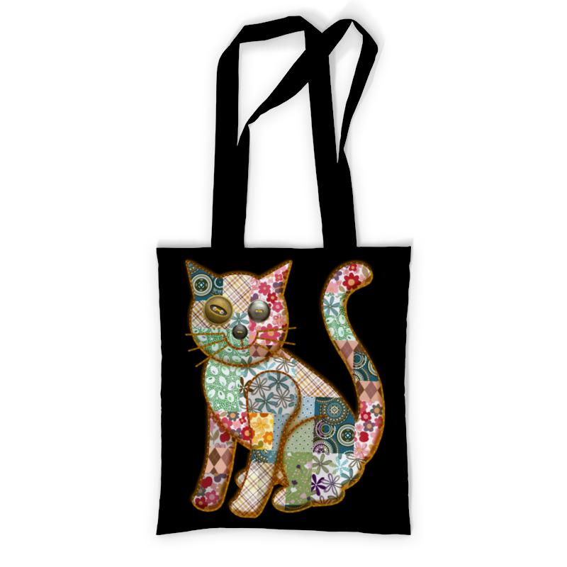 Сумка с полной запечаткой Printio Лоскутный кот сумка с полной запечаткой printio people