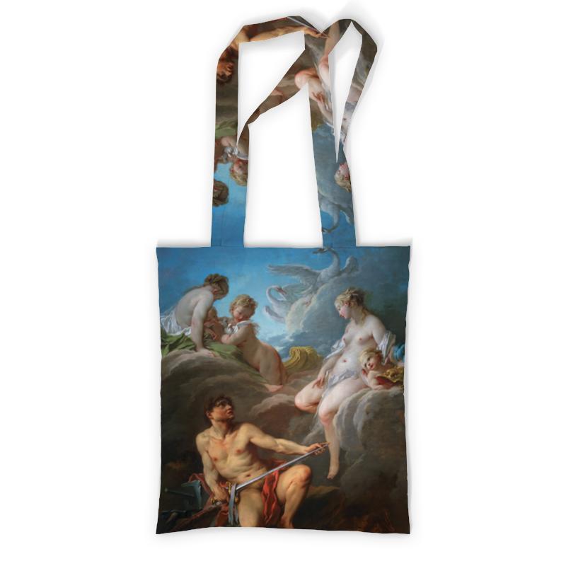 Сумка с полной запечаткой Printio Венера, просящая у вулкана оружие для энея сумка с полной запечаткой printio иван грозный убивает своего сына илья репин