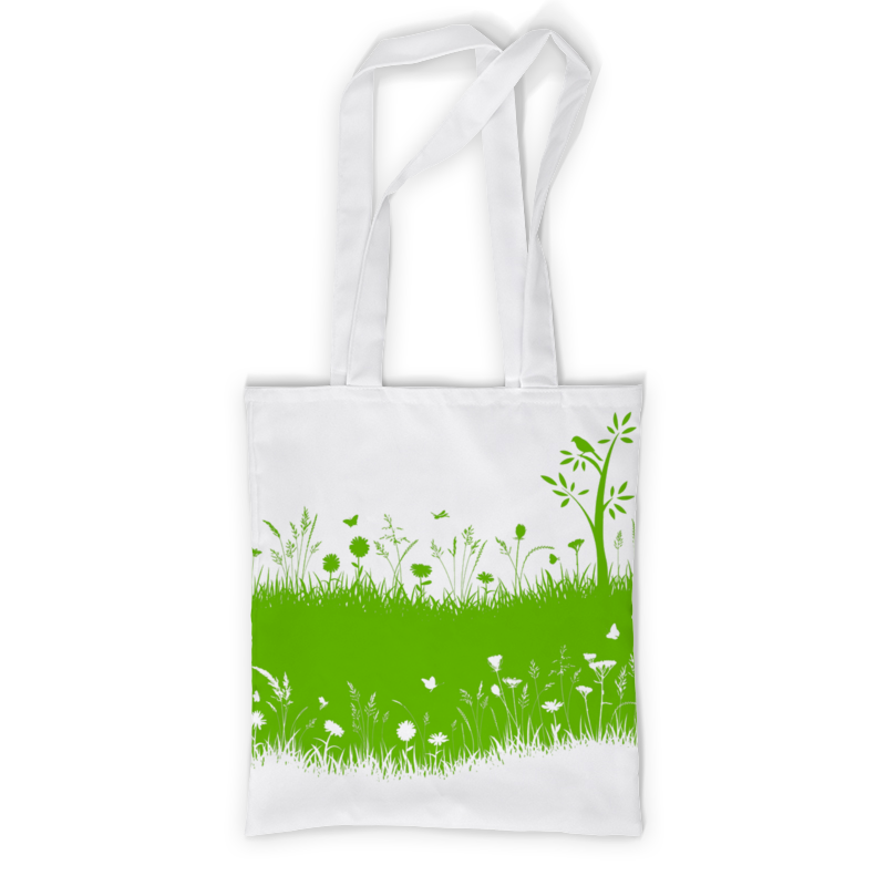 все цены на Сумка с полной запечаткой Printio Летняя трава онлайн
