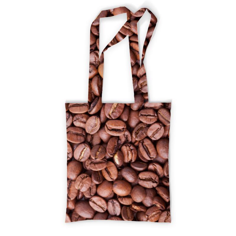 Сумка с полной запечаткой Printio Зерна кофе