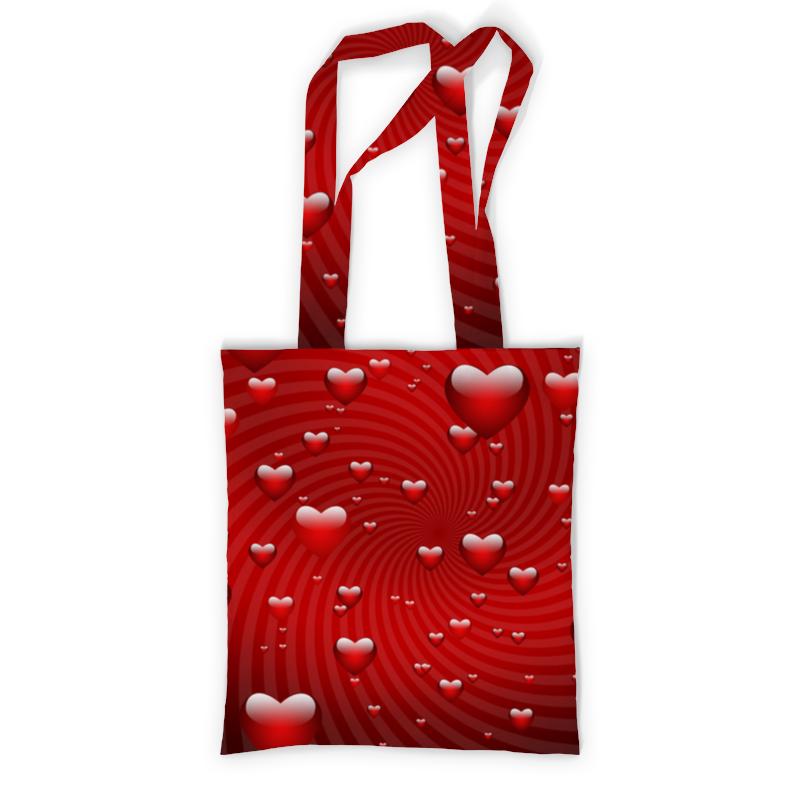 Сумка с полной запечаткой Printio Сердце сумка с полной запечаткой printio people