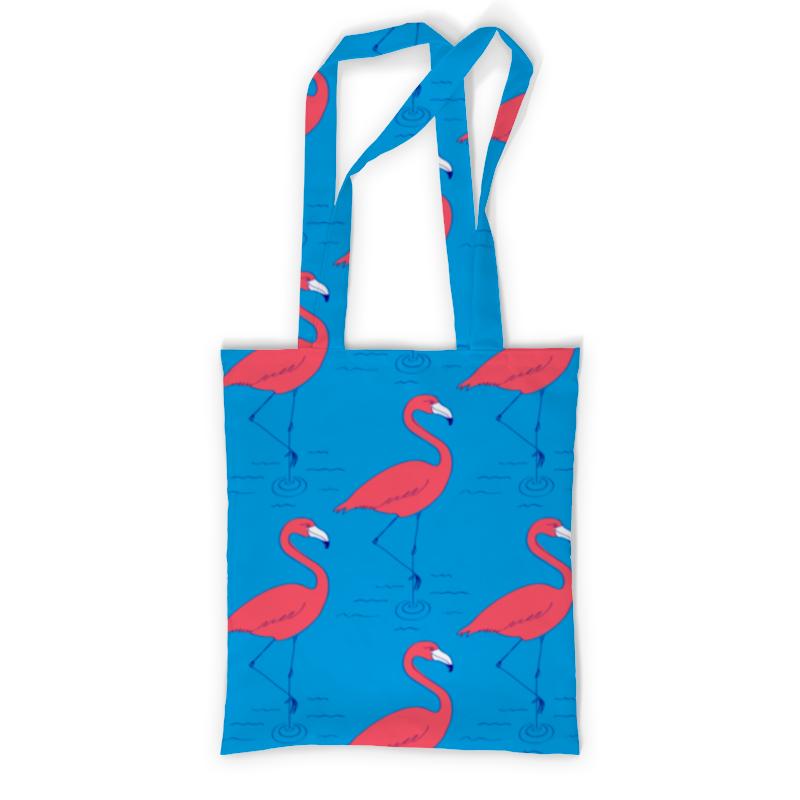 Сумка с полной запечаткой Printio Розовый фламинго сумка printio pink фламинго