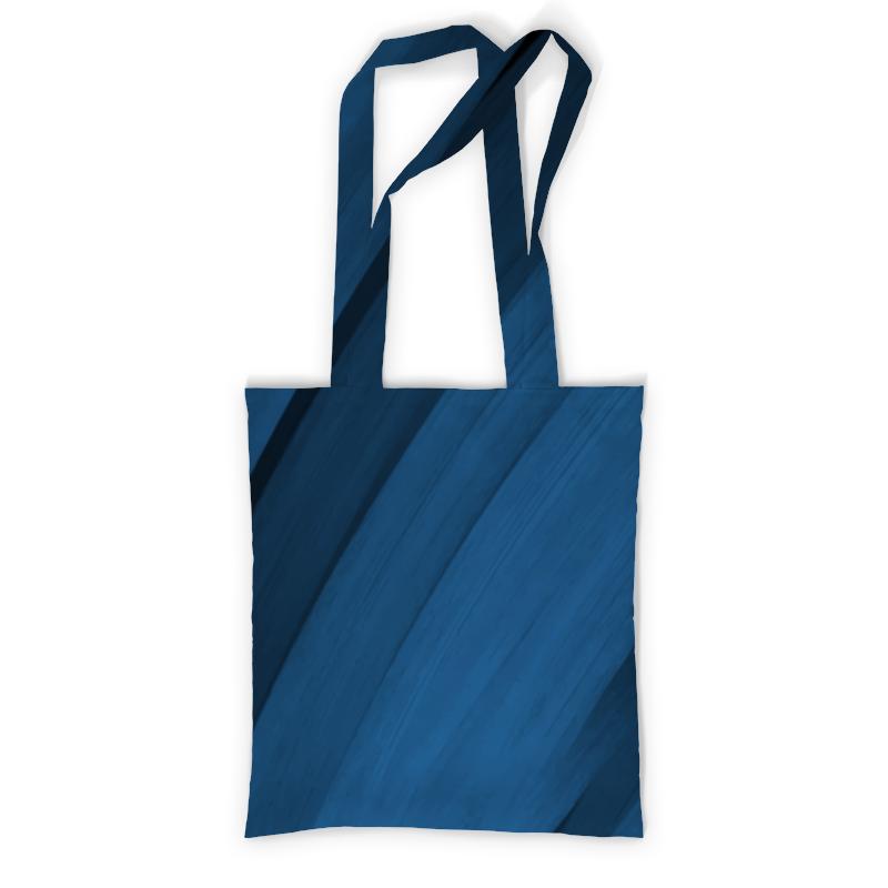 Сумка  полной запечаткой Printio Синяя абстракция