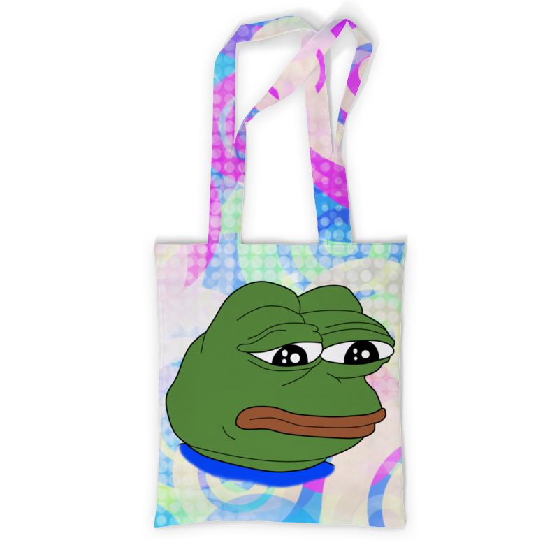 Сумка с полной запечаткой Printio Pepe frog